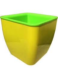 <b>Горшок</b> для цветов SQUARE COULEURS <b>8л</b>/3,6л ТЕК.А.ТЕК ...