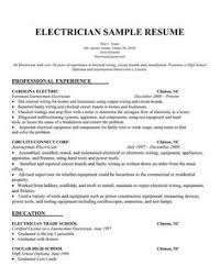 resume of electrician construction construction resume template     Resume Experts