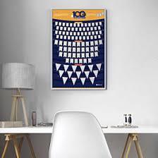<b>Скретч</b>-постер #<b>100ДЕЛ</b>