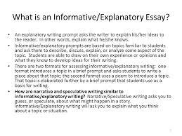 writing part  the informativeexplanatory writing task   ppt   what is an informativeexplanatory essay an explanatory writing prompt asks the writer