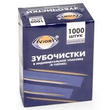 <b>Зубочистки Aviora 1000шт</b>, бамбуковые, <b>401-488</b> цена