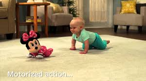 <b>Disney Baby MINNIE</b> MOUSE Musical Touch 'n Crawl - Toy Demo ...