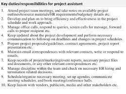 company manager template sample hr consultant job description