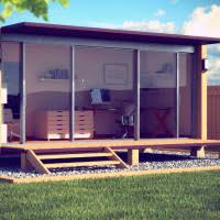 incredible prefab home office to build in your backyard breathtaking garden design implemented with big backyard home office build