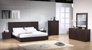 Modern Bedroom Set Milena Modern Bedroom Set In Luxury Chocolate Color Billings