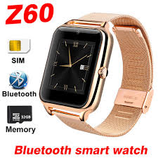 2018 New <b>Smart Watch Z60</b> Bluetooth <b>SmartWatch For</b> Android IOS ...