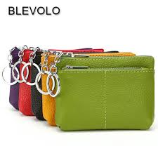 Online Shop BLEVOLO <b>Luxury Real Leather</b> Short Wallet Mini ...