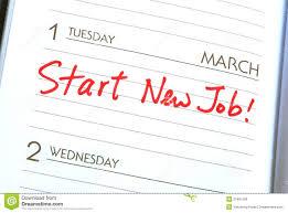 start a new job royalty stock images image  start a new job