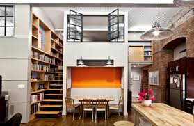awesome loft space ideas creative bookshelves office great