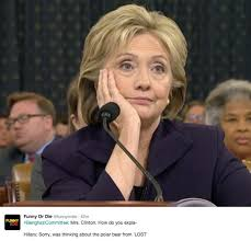 Hillary Clinton's Benghazi hearing, the best memes – Metro via Relatably.com