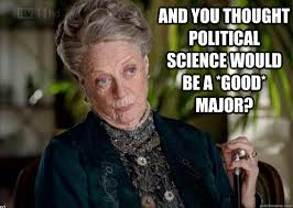 8 Things Political Science Majors Hear From Non-Political Science ... via Relatably.com