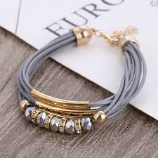 Bracelet Wholesale <b>2019 New Fashion</b> Jewelry Leather Bracelet for ...