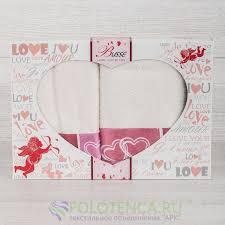 Купить <b>набор полотенец</b> любовь по цене 990 руб., <b>полотенца</b> ...