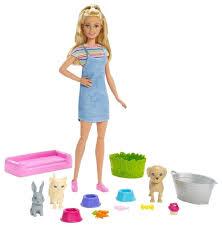 Кукла <b>Barbie</b> и домашние <b>питомцы</b>, FXH11 — купить по выгодной ...