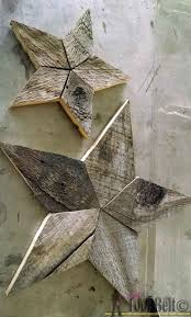 best ideas about wooden stars barn wood projects easily add natural elements into your christmas decor these simple patchwork rustic stars