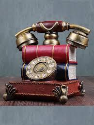 Buy <b>1 Pc Decorative</b> Artware <b>Vintage</b> Telephone Shaped Home ...