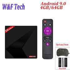 S8 MAX PLUS 4GB 64GB <b>Android 9.0 TV BOX</b> Rockchip RK3328 ...