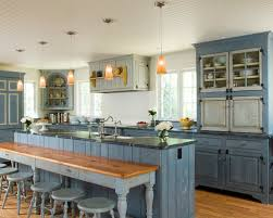 painted blue kitchen cabinets house:  house images light blue kitchen cabinets ideas pictures remodel and decor awesome home inspire