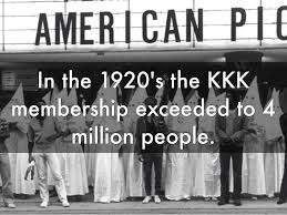 kkk rally interesting c the o jays the kkk was so big in the 1920s that it even exceeded 4 million people