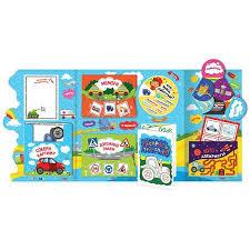 Лэпбук. Детям о транспорте. <b>Книжка</b>-<b>папка с карточками и</b> ...