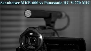 Тест <b>микрофона Sennheiser MKE</b> 600 на улице - YouTube