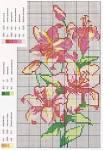 Вышивка схема бесплатно лилиями