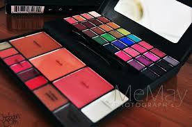 elf studio makeup clutch palette ด านบนเป นอายแชโดว 32 ส โทนร อนและ