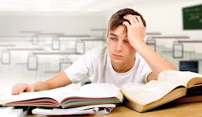 Image result for teenage student struggling with reading