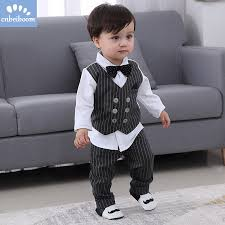 <b>2019 New Kids Boy</b> Clothes Baby Gentleman Suit Clothing Sets ...