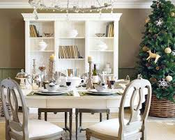 Christmas Dining Room Here Are Some More Beautiful Quot White Christmas Quot Ideas