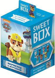 """<b>Sweet</b> Box Конфитрейд """"Щенячий патруль"""", <b>мармелад с</b> ..."""