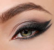Image result for cats eye makeup