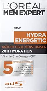<b>L'Oreal Paris Men Expert</b> Hydra Energetic, Anti-Fatigue Moisturiser ...