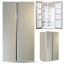 <b>холодильник GiNZZU NFK-605</b> 582л. шампань стекло
