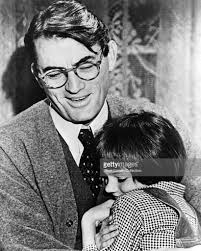 author harper lee settles to kill a mockingbird lawsuit photos actor gregory peck as atticus finch and mary badham as jean louise scout finch