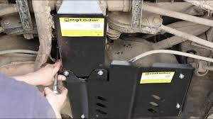 Усиленные <b>защиты топливного бака</b> и редуктора Motodor на ...