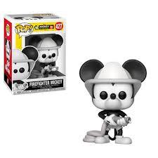 <b>Funko Mickey's</b> 90th <b>Firefighter Mickey POP</b>! <b>Vinyl</b> Figure #427 (Pre ...