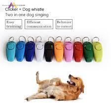 ABH   <b>Hot Sale</b>!<b>Combo Dog Clicker</b> & Whistle - Training,Pet Trainer ...