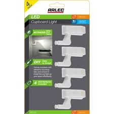Arlec <b>LED Cupboard Hinge Light</b> - 4 Pack | Bunnings Warehouse