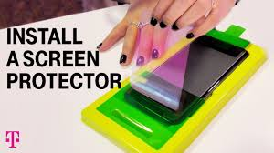 How to Apply <b>Screen Protector for</b> iPhone and Android   T-Mobile ...