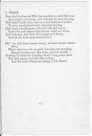 reframing first world war poetry the british library published after rupert brooke died 1914 and other poems are classic examples of war poetry