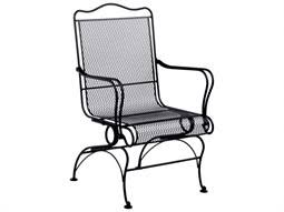 dining chairs black wrought iron patio