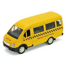 Игрушка <b>WELLY</b> 42387ATI <b>Модель машины</b> ГАЗель Такси ...