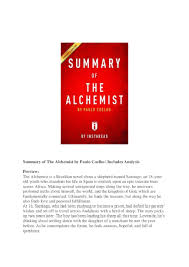 summary of the alchemist by paulo coelho includes analysis pdf summary of the alchemist by paulo coelho includes analysis pdf