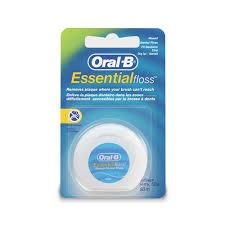 <b>НИТЬ</b> `<b>ORAL</b>-<b>B</b>` <b>зубная Essential</b> вощеная мятная 13241559 по ...