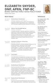 nurse practitioner resume samples   visualcv resume samples databasefamily nurse practitioner resume samples