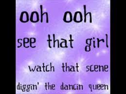 Dancing Queen - Lyrics (Mama