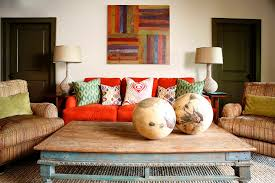 day bed covers living room transitional with artwork collected colorful pillows distressed red couch rustic striped bedroom chaise lounge covers