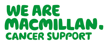 logo for Macmillan cancer support in green writing