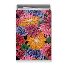 """Коробка для футболок """"<b>Подарочная упаковка с</b> ярким цветочным ..."""